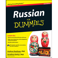 Russian for Dummies, 2nd Edition with CD (BOK)