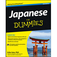 Japanese for Dummies, 2nd Edition with CD (BOK)