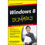 Windows 8 For Dummies Quick Reference (BOK)