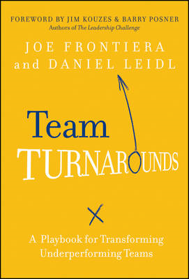 Team Turnarounds: A Playbook for Transforming Underperforming Teams (BOK)