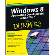 Windows 8 Application Development with HTML5 For Dummies (BOK)