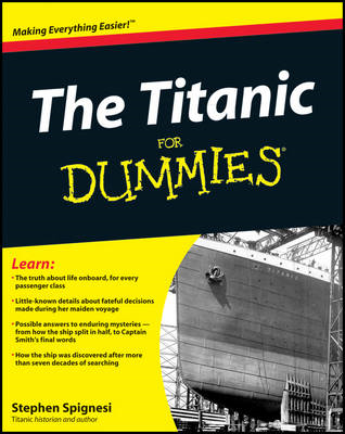 The Titanic For Dummies (BOK)