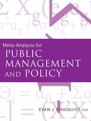 Meta-Analysis for Public Management and Policy (BOK)