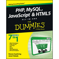 PHP, MySQL, JavaScript & HTML5 All-in-one For Dummies (BOK)