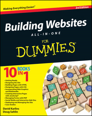 Building Websites All-In-One for Dummies, 3rd Edition (BOK)