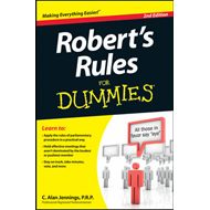 Robert's Rules For Dummies (BOK)