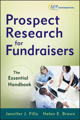 Prospect Research for Fundraisers: The Essential Handbook (BOK)