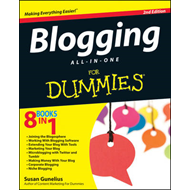 Blogging All-in-One For Dummies (BOK)