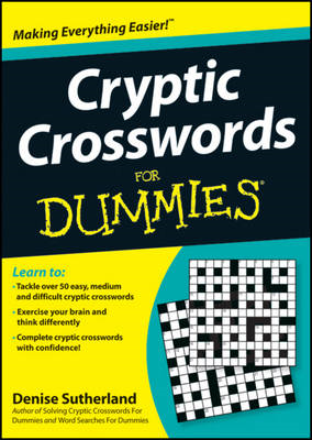 Cryptic Crosswords for Dummies (BOK)