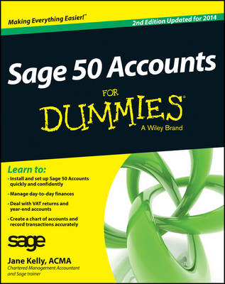 Sage 50 Accounts For Dummies (BOK)