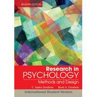 Research in Psychology: Methods and Design (BOK)