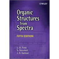 Organic Structures From Spectra 5E (BOK)