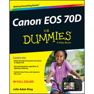 Canon EOS 70D For Dummies (BOK)