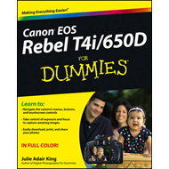 Canon EOS Rebel T4i/650D For Dummies (BOK)