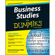 Business Studies For Dummies(R) (BOK)