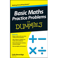 Basic Maths Practice Problems For Dummies (BOK)