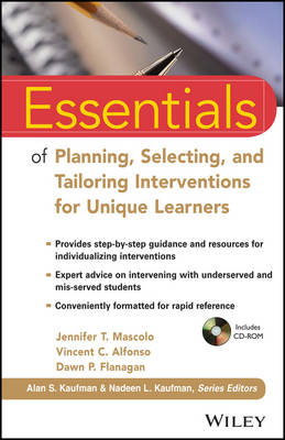 Essentials of Planning, Selecting, and Tailoring Interventio (BOK)