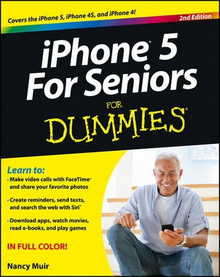 iPhone 5 for Seniors For Dummies (BOK)