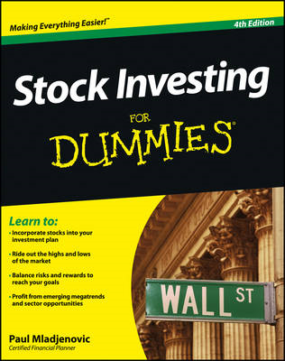 Stock Investing For Dummies (BOK)