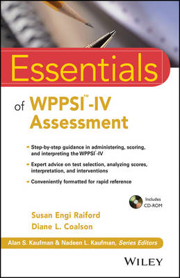 Essentials of WPPSI-IV Assessment (BOK)