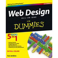 Web Design All-in-One For Dummies (BOK)