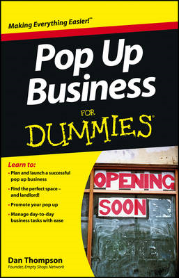 Pop-Up Business For Dummies (BOK)