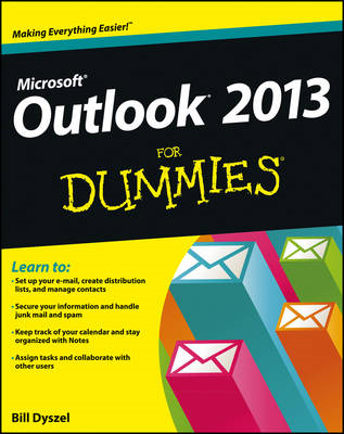 Outlook 2013 for Dummies (BOK)