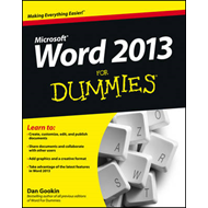 Word 2013 for Dummies (BOK)