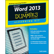 Word 2013 eLearning Kit For Dummies (BOK)