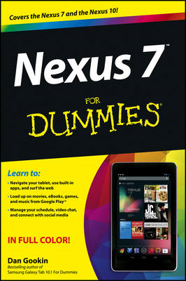 Nexus 7 For Dummies (Google Tablet) (BOK)