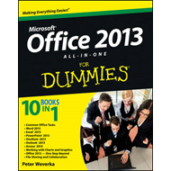 Office 2013 All-in-One For Dummies (BOK)