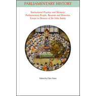 Institutional Practice and Memory - Parliamentary People, Re (BOK)