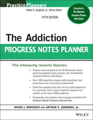 Addiction Progress Notes Planner (BOK)