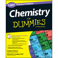 1,001 Chemistry Practice Problems for Dummies (BOK)