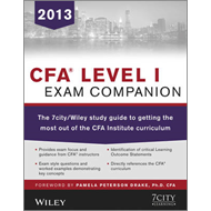 CFA Level I Exam Companion: The 7city/Wiley Study Guide to Getting the Most Out of the CFA Institute (BOK)