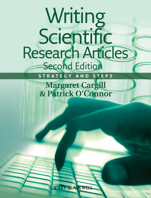 Writing Scientific Research Articles - Strategy   and Steps (BOK)