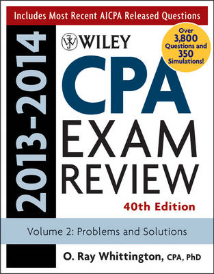 Wiley CPA Examination Review 2013-2014: Problems and Solutions (BOK)