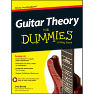 Produktbilde for Guitar Theory For Dummies (BOK)