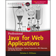 Professional Java for Web Applications (BOK)