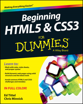 Beginning HTML5 and CSS3 For Dummies (BOK)
