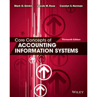 Core Concepts of Accounting Information Systems (BOK)