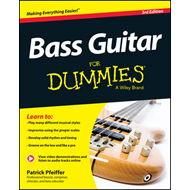 Produktbilde for Bass Guitar For Dummies (BOK)