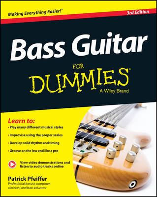 Bass Guitar For Dummies (BOK)