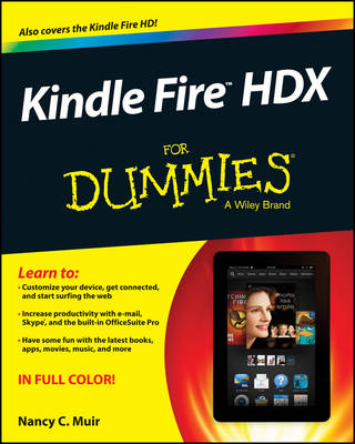 Kindle Fire HDX For Dummies (BOK)