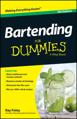 Bartending For Dummies (BOK)
