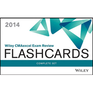 Wiley CMAexcel Exam Review 2014 Flashcards: CMA Exam Review Complete Set (BOK)