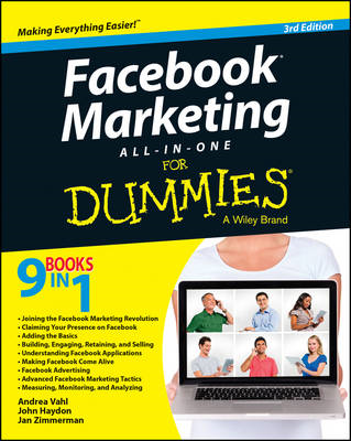 Facebook Marketing All-In-One for Dummies, 3rd Edition (BOK)