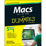 Macs All-in-One For Dummies (BOK)