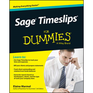 Sage Timeslips For Dummies (BOK)