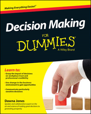Decision Making For Dummies(R) (BOK)